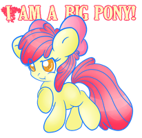 I am a big pony by GlitterBell
