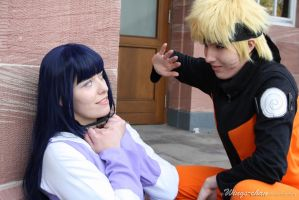 NaruHina - Greeting by Wings-chan
