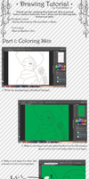 + Coloring Tutorial (Part 1) + by Serket-XXI