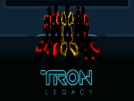 Tron Legacy Wallpaper by NSCosplay