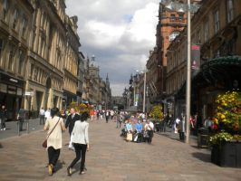 Buchanan St. Glasgow by CooroSnowFox