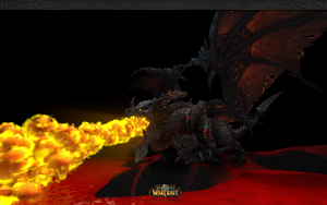WIP C4D Deathwing wallpaper by xCustomGraphix