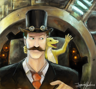 The Time traveller's Quandary by Travis-Anderson