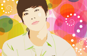 Dongwoo Vector Popart by KpopGurl