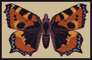 Tortoise shell Pixel art by SaintBonkers