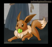 Day 31: Eevee by Pokeaday