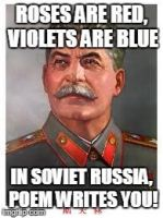 Poems in Russia by VinceOnAStick