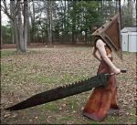 Pyramid Head Full Body Complete by kyphoscoliosis