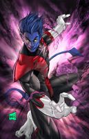 Nightcrawler 2014 Colors by hanzozuken