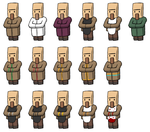 Villager careers texture concepts by BJ-O23