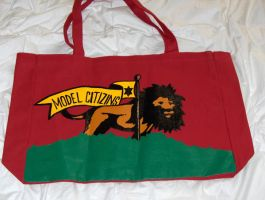 CITIZINS LIONKING TOTE BAG by truthdondie