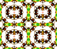 Lysergica Semitransparent Pattern 9 by PhotoComix2