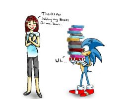 Back to School with Sonic by Beccawolf16
