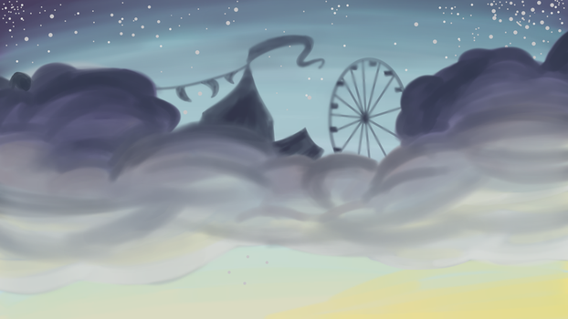 Circus in the Clouds by Clockwork-Shadow