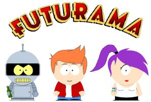 South Park Futurama by grimmjack