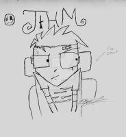 Johnny the Homicidal Maniac by CherryFreezie777