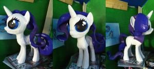 My Little Pony Rarity Paperccraft by Meercat122