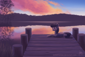 The Dock by JoelletheNose