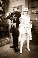 Treasurehunter Steampunk Duo by Arvalus