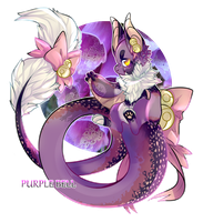 [AUCTION] Purple Bell [CLOSED] by xXTWlNNlESXx