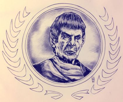 Old Man Spock by ringwrm