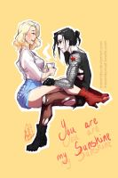 You are my sunshine [Stucky Genderbend Fanart] by Minemiko