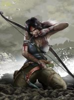 Lara Croft Tomb Raider Reborn by illustrationoverdose