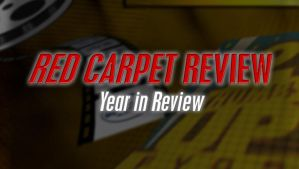 Red Carpet Review Title Graphic by graph-man
