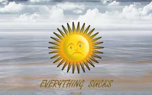 SUN-DAYS: EVERYTHING SUCKS.....Sol (Sad Out Loud) by CSuk-1T