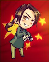 Hetalia - China by FirelordPie
