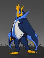 Emporer Empoleon by dragonictoni