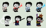 YTS- EVEN MORE Markiplier sprites by Psycho-CandyAddicted