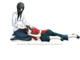 Knite:: Mother Please Stay by roxysketches