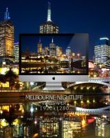 Melbourne Night Life Wallpaper by Eternal-Polaroid