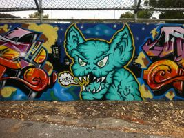 HQ wall 61 by PerthGraffScene