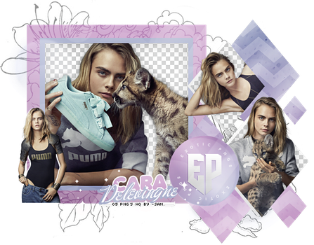 Pack Png 2073 // Cara Delevingne by ExoticPngs