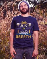 Take A Deep Breath mock up by dandingeroz