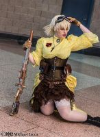 Steampunk Seras Victoria 7 by Insane-Pencil