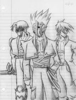 Three Warriors by IMAGE05
