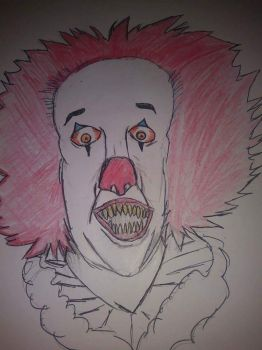 PennyWise the clown by Devilhunte14