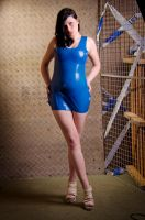 ''Blue latex'' by NikonD5100kris