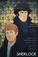 Sherlock by cheshirecatart