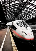 ICE - Koln Hbf by aikidoholic