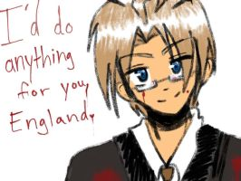 I'd do anything for u,England. by akitokun1