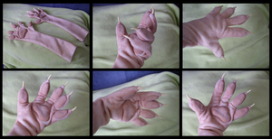 Shady Rat Handpaws by CuriousCreatures