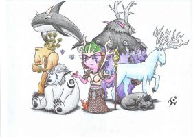 Druid Team by triumviratusok