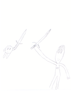 3 minute scetch by drakebell123
