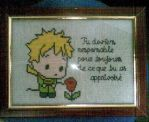 Le Petit Prince cross stitch by camilasilvestre