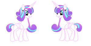 POS and NG: Princess Flurry Heart reference sheet by HeartSong-fim