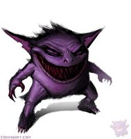 Gengar by ConnyNordlund